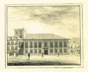 Casa Balsemão (Depois do Visconde da Trindade) , Praça Carlos Alberto, 71