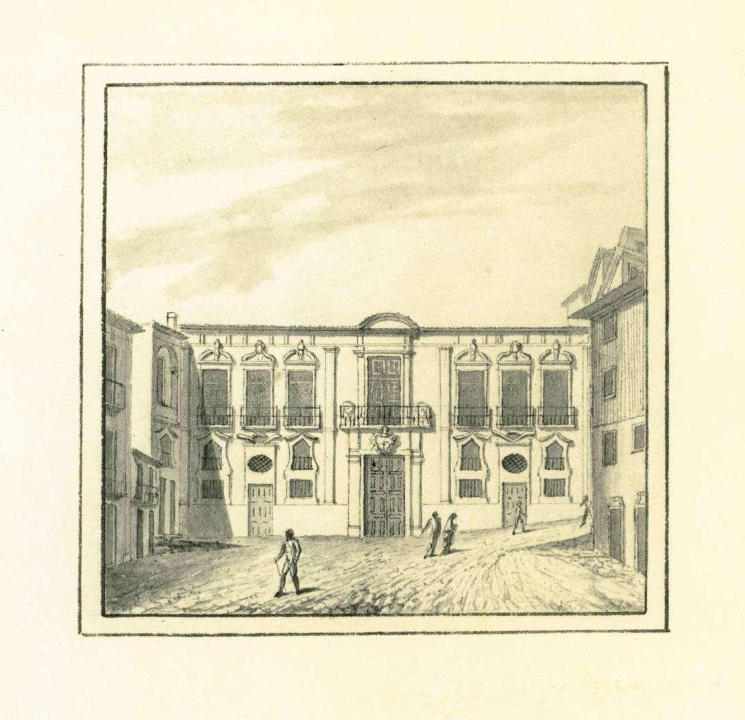 Casa d'Alvaro Leite - Edificio do Museu de Etnografia e História, Lrgo S. João Novo, 11