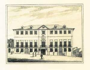 Casa de Manoel Guedes - Edifício dos Correios, Praça da Batalha, 12
