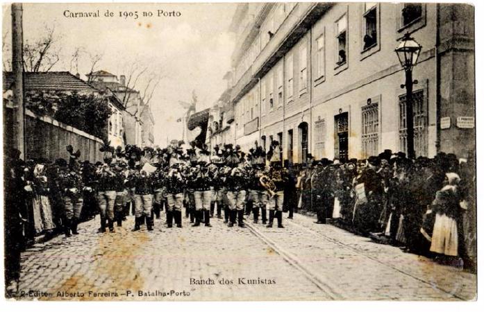 Carnaval 1905 Banda dos Kunista