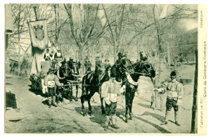 carnaval 1905 - Carro Camisaria Confiança