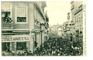 Carnaval 1905 Rua Santa Catarina