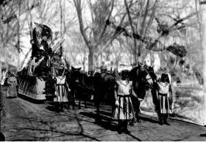Carnaval de 1905 - Carro Alegórico