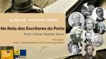 Na Rota dos Escritores do Porto