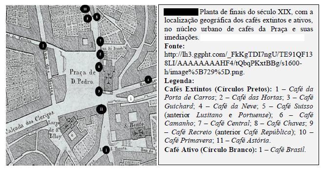 Planta cafés final do sec XIX