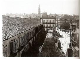 CONVENTO DE S. BENTO DE AVÉ MARIA - LADO NORTE E MURALHA