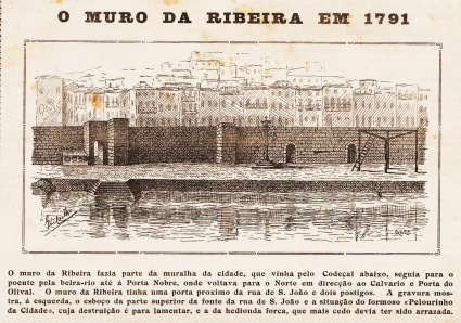 MURALHA FERNANDINA - RIBEIRA