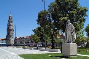 portugal porto oporto cordoaria ramalho ortigão clerigos