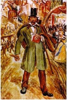 Café Guichard Pintura de Dordio Gomes (1890-1976), de Camilo