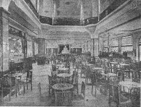CAFÉ PALLADIUM - INTERIOR - 1940