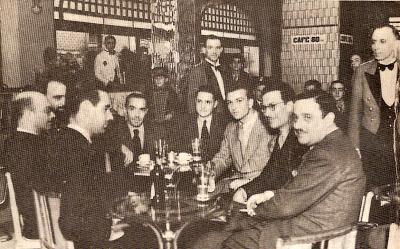 CAFÉ PALLADIUM - PERSONLIDADES 1941