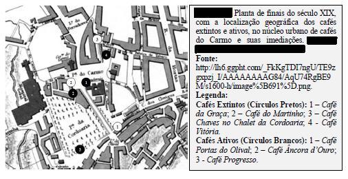 cafés núcleo urbano carmo