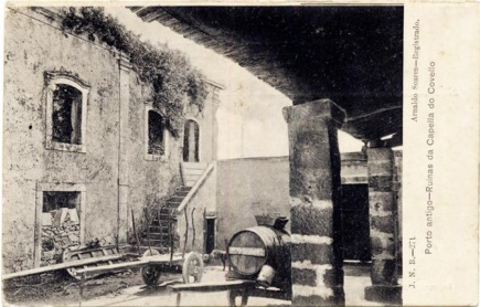Quinta do Covelo - Pátio interior - 1900